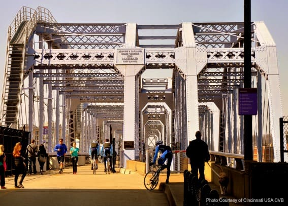 Family-friendly reviews of Purple People Bridge on trekaroo