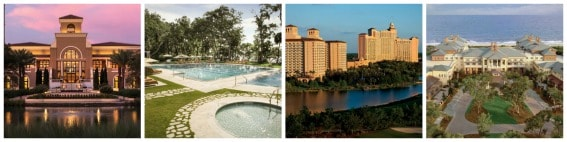 Southern Luxury hotels