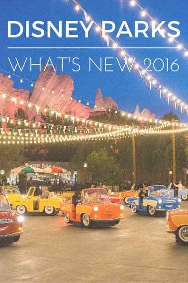 What's New for 2016 at Disney Parks pinterest