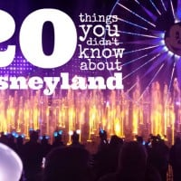 20 things you didn't know about Disneyland
