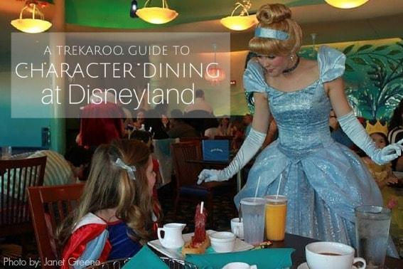 Character dining Disneyland 567