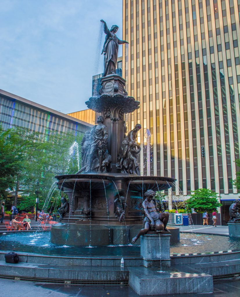 Fountain Square Cincinnati