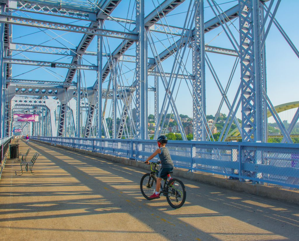 Fun Things to Do in Cincinnati with Kids Bike to Kentucky