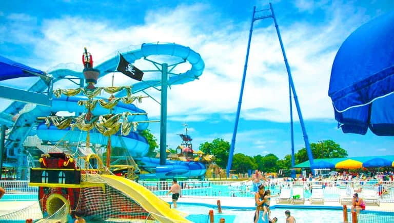 Schlitterbahn in New Braunfels is a great day trip from San Antonio