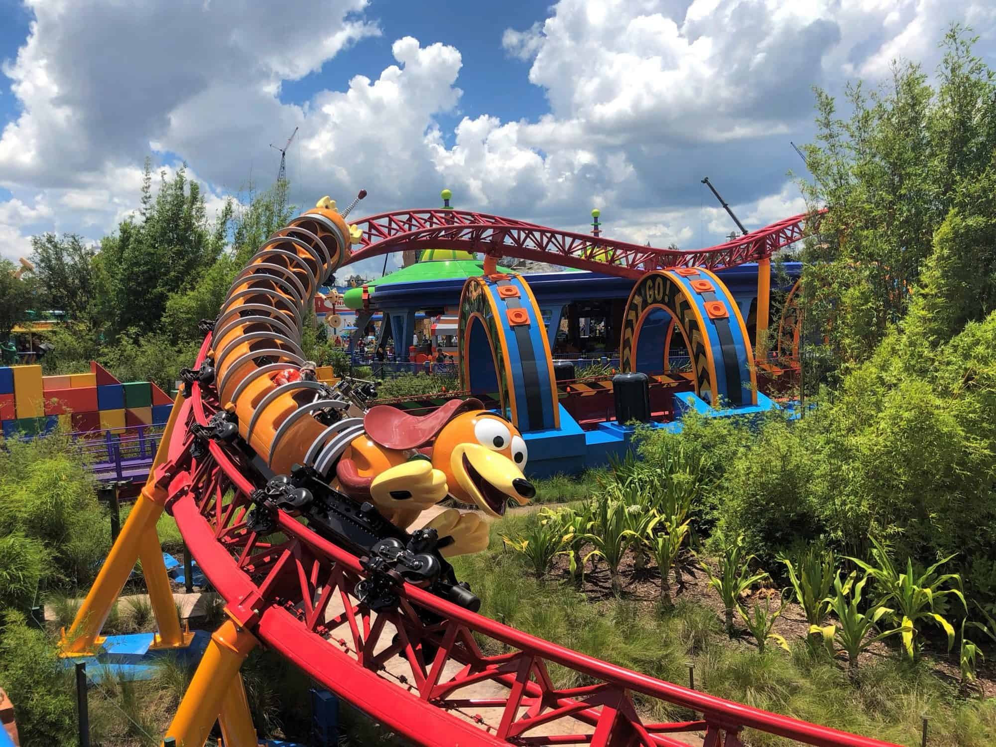 Slinky Dog Dash Disney Hollywood Studios