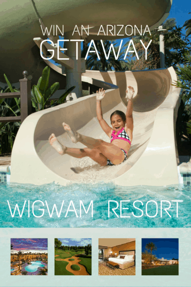 Win an Arizona Vacation at the Wigwam Resort Pinterest