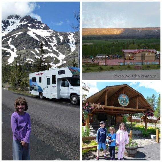 Glacier Camping