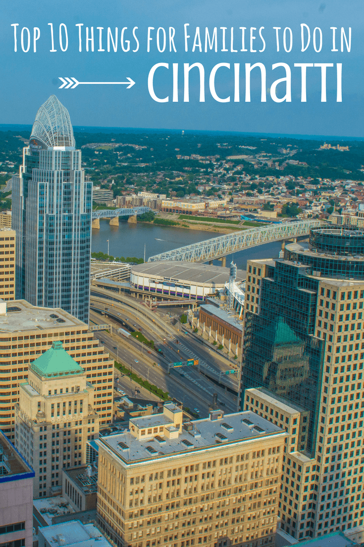 Cincinnati hosts parks and fountains for play, ballparks for cheering on the home team, a zoo, an aquarium, and countless museums. Cincinnati is the perfect destination for a Midwest family vacation. Here's Trekaroo's list of our top 10 fun things to do in Cincinnati with kids! #familytravel #cincinnati #ohio #kentucky