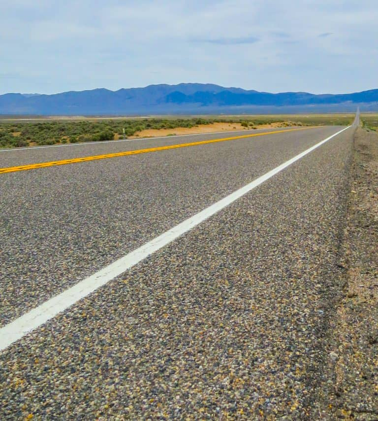America's Loneliest Highway US Route 50 in Nevada