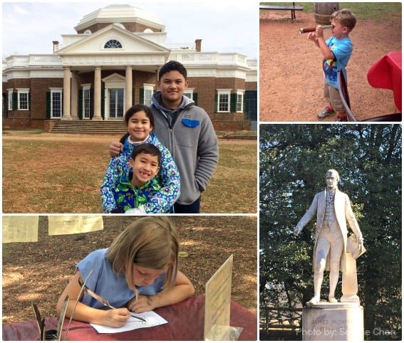 Monticello Thomas Jefferson James Monroe Charlottesville