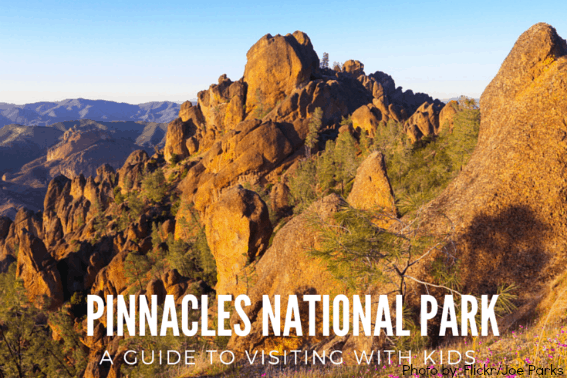 Explroing California's Pinnacles National Park with kids