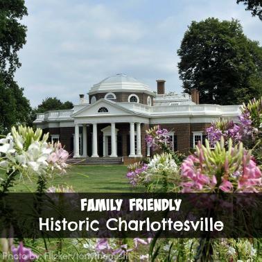 Family Friendly Historic Charlottesville