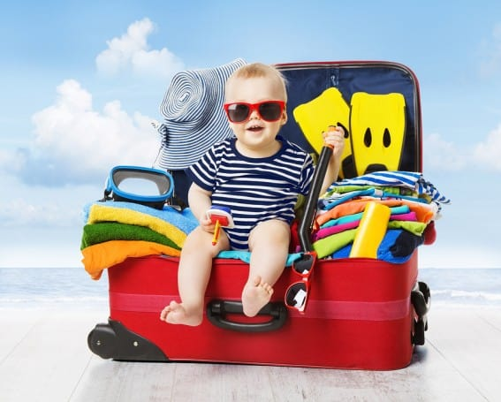Packing Baby For Vacation: How to pack what you need and leave what you don't