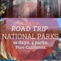 national parks in california road trip
