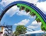 The Joker Chaos Coaster Six Flags Over Georgia