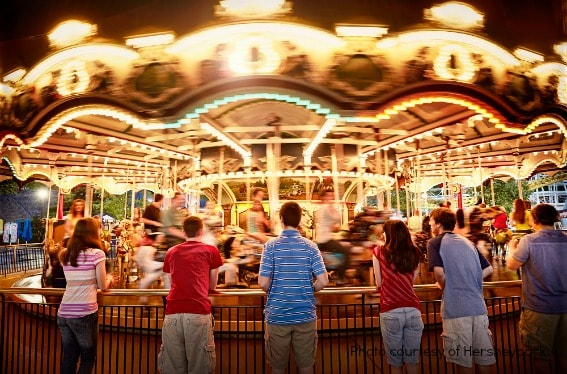 Best Amusement Park Young Kids Hersheypark carousel