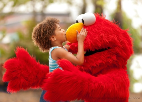 Best Amusement Park Young Kids Sesame Place Elmo