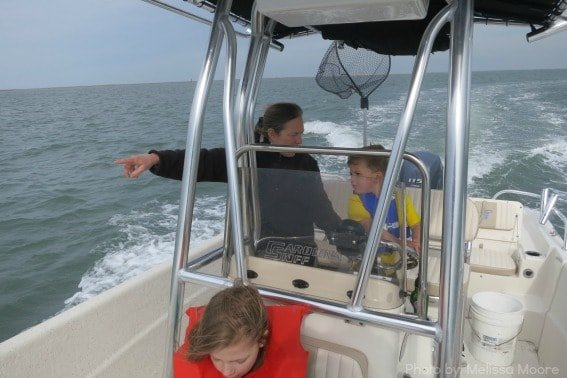 Boating Virginia's Barrier Islands Wachapreague