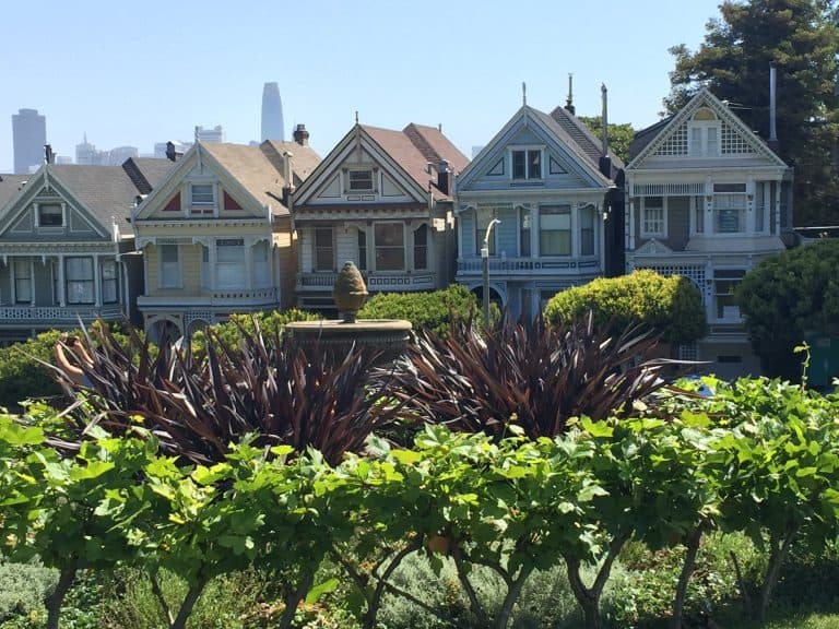 Fun Things to do with Kids in San Jose - The Painted Ladies - San Francisco