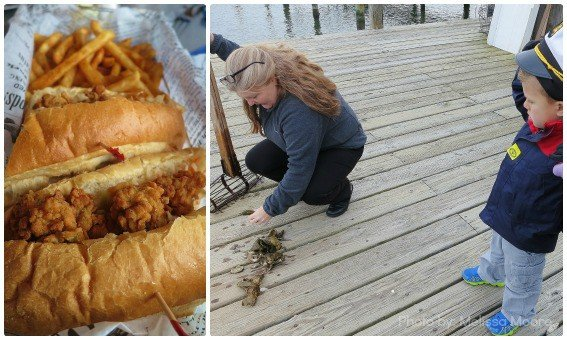 Oyster Po Boy The Shanty Cape Charles Chesapeake Bay Maritime Museum Oysters
