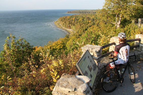Biking in Door County
