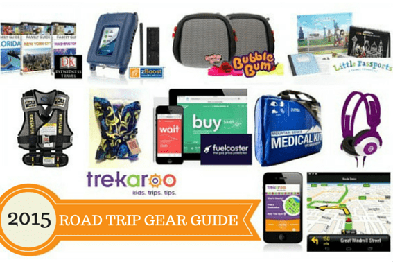 Gear guide for Family Road Trips with Kids