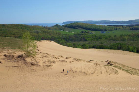 Sleeping Bear Dunes Lake Michigan Great Lakes