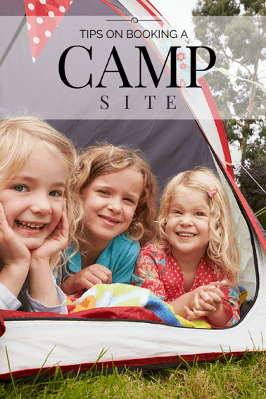 Tips on Booking a Campite