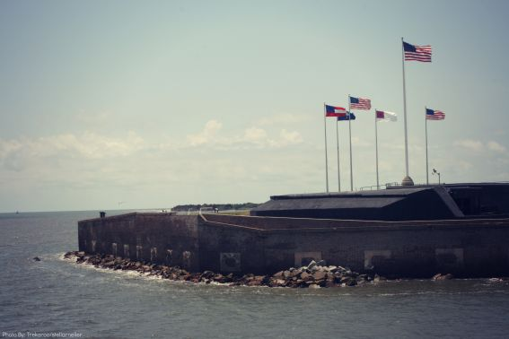 Fort Sumter Road trip Charleston SC Savannah GA