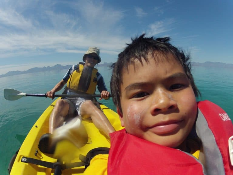 Uncruise Adventures review of the Sea of Cortez cruise Kayaking the Sea of Cortes