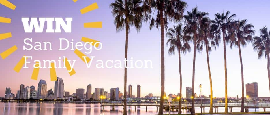 Win a San Diego Family Vacation 936x400px