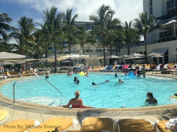 Boca beach pool