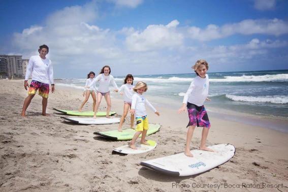 surfing Boca
