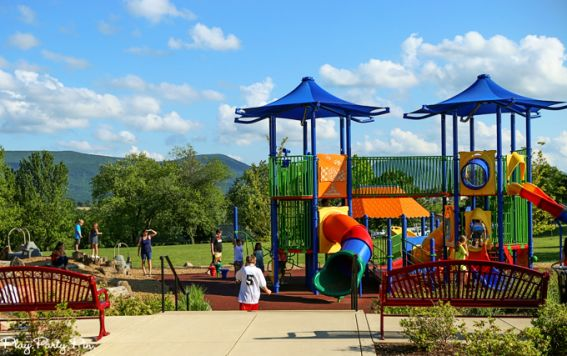 Cool off and have some fun at W.O. Riley Park