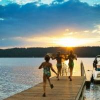 Dock Idaho Family Vacation