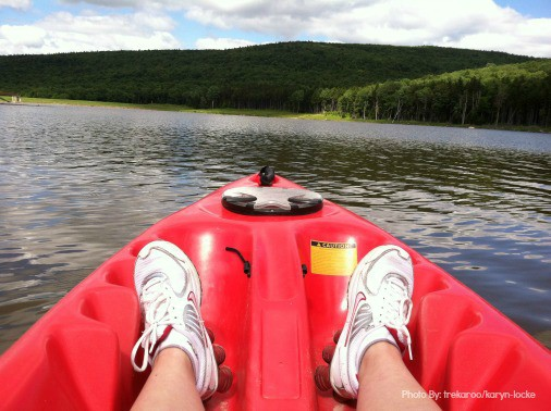 Kayaking at Snowshoe Mountain Resort