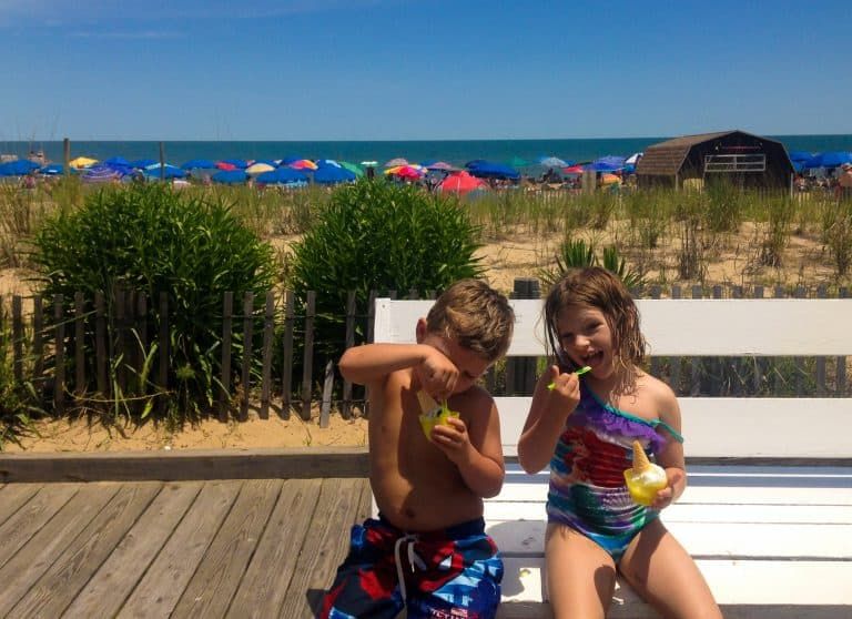 sweet treats for a vacation in Rehoboth Beach Delaware and on the Eastern Shore