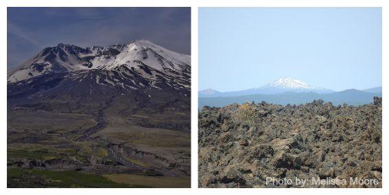 volcanoes of the Cascade Range