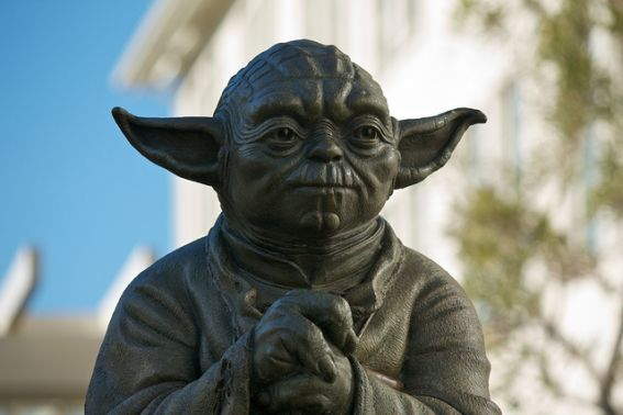 Star Wars Yoda Fountain