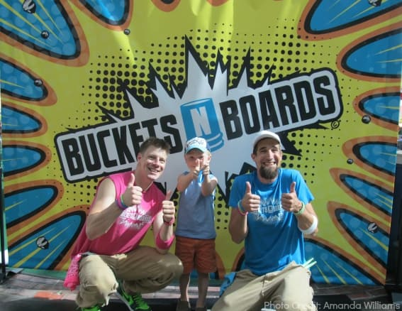 Buckets N Boards Branson