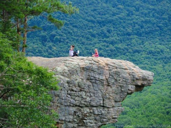 Hawksbill Crag NW Arkansas