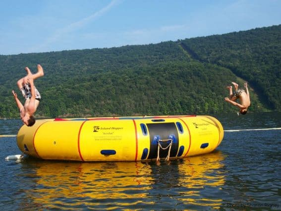 Raystown Lake Jumping