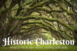 Visiting Historic Charleston with Kids