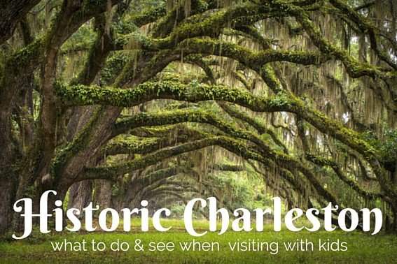 Visiting Historic Charleston with Kids