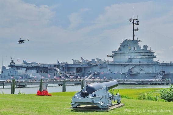 Patriots Point Charleston USS Yorktown Civil War