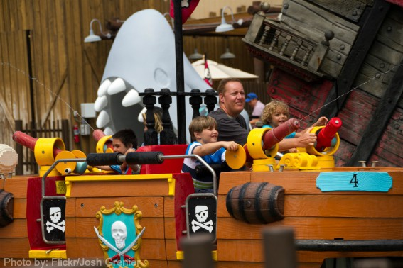 Pirates Ride LEGOLAND Flickr Josh Grenier