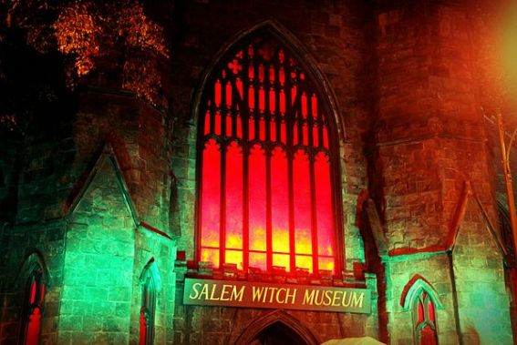 File Name: Salem Witch Museum Photo By: Christine Zenino