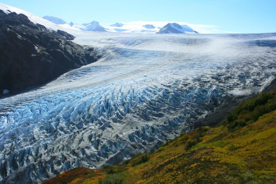 How to teach your kids about global warming can begin at a glacier