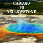 road trip from Chicago to Yellowstone