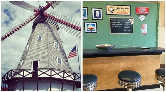 Iowa Windmill and Ice Cream Parlor